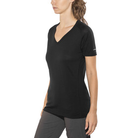 Devold Breeze V-Neck T-Shirt Women Black